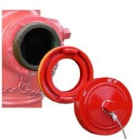 Storz Hydrant Converter with Nut Cap